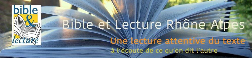Bible & Lecture Rhône-Alpes